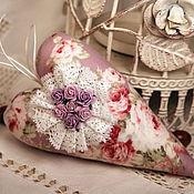 Куклы и игрушки ручной работы. Ярмарка Мастеров - ручная работа Тильда Сердечко с розами. Handmade.