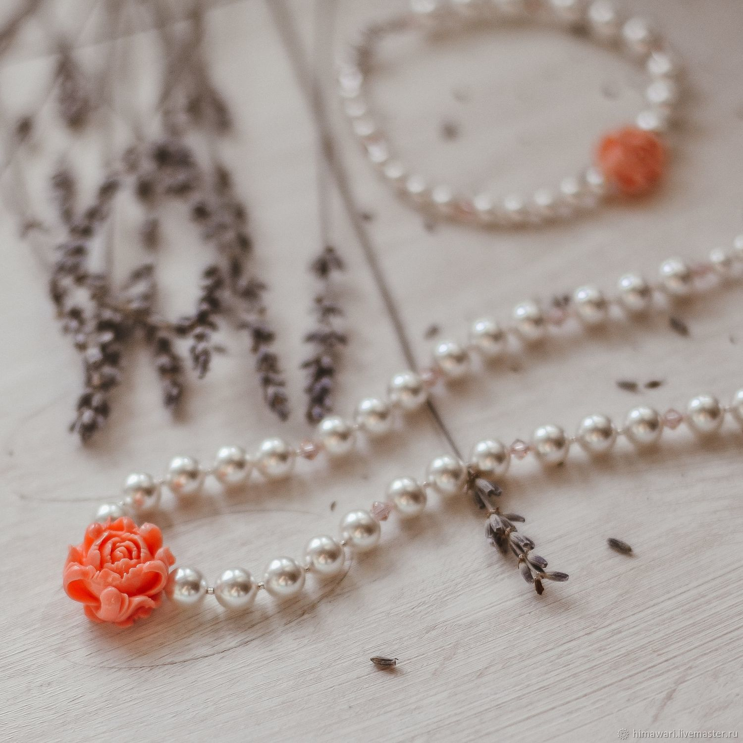 Necklace beads Rose, Necklace, Moscow,  Фото №1