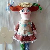 Куклы и игрушки ручной работы. Ярмарка Мастеров - ручная работа Кукла Пеппи II. Handmade.