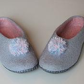 """Обувь ручной работы. Ярмарка Мастеров - ручная работа тапочки """"Зефирки"""". Handmade."""