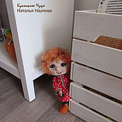 Dolls handmade. Livemaster - original item Dolls and dolls: textile doll-amulet Brownie Toshka. Handmade.
