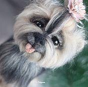 Куклы и игрушки handmade. Livemaster - original item Yorkshire Terrier rose 2. Handmade.