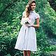 """Платья ручной работы. """"Невеста..."""". Ану Каспер (anukasper). Интернет-магазин Ярмарка Мастеров. Платье коктейльное, хлопок 100%"""