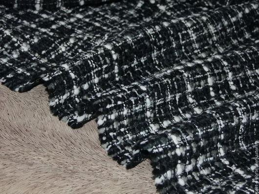Шитье ручной работы. Ярмарка Мастеров - ручная работа. Купить Chanel шерсть букле костюмно- пальтовая , Италия. Handmade.
