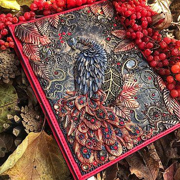 Сувениры и подарки ручной работы. Ярмарка Мастеров - ручная работа Ежедневник Птица счастья. Handmade.