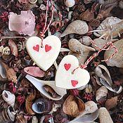 Для дома и интерьера handmade. Livemaster - original item Fragrant heart-sachet for home or car. Handmade.
