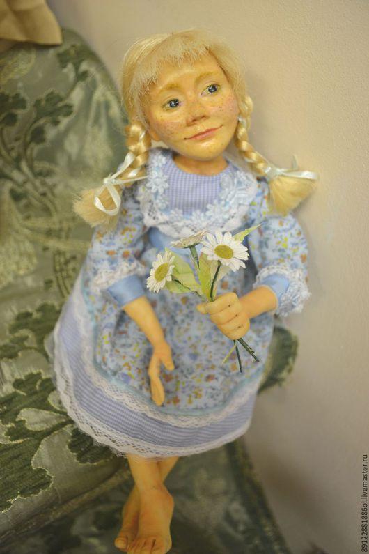 Коллекционные куклы ручной работы. Ярмарка Мастеров - ручная работа. Купить Портретная кукла Настенька. Handmade. Комбинированный, кукла интерьерная