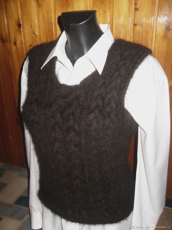 Women's knitted vest Sennenhund, Vests, Klin,  Фото №1