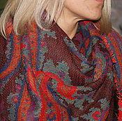 Винтажные аксессуары ручной работы. Ярмарка Мастеров - ручная работа СОURTELLE шейный платок винтаж. Handmade.