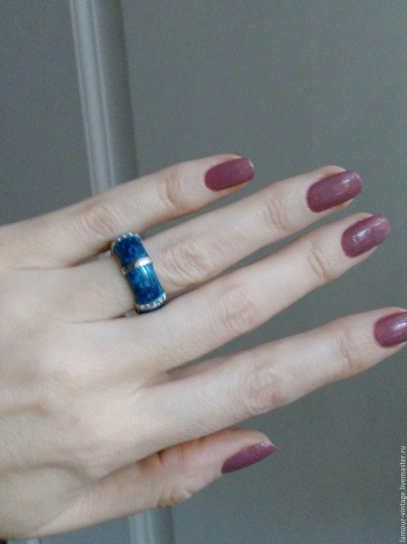 Винтаж: Интересное винтажное кольцо (Европа), Кольца винтажные, Санкт-Петербург,  Фото №1