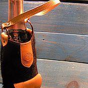 Подарки к праздникам ручной работы. Ярмарка Мастеров - ручная работа Чехол для вина   ( ДЛЯ ДВОИХ). Handmade.