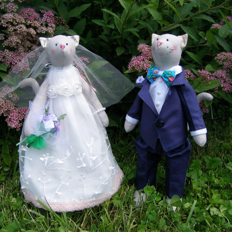 Котики жених и невеста, Подарки, Тольятти,  Фото №1