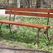 Для дома и интерьера ручной работы. Ярмарка Мастеров - ручная работа Кованая скамейка. Handmade.