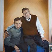 Картины и панно ручной работы. Ярмарка Мастеров - ручная работа Мужской портрет на заказ. Handmade.