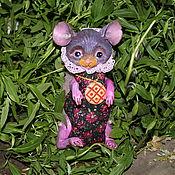 Фен-шуй и эзотерика ручной работы. Ярмарка Мастеров - ручная работа Обережная кукла Мышь на достаток. Handmade.