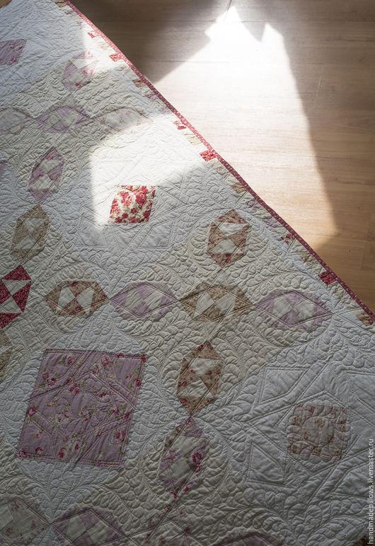 """Текстиль, ковры ручной работы. Ярмарка Мастеров - ручная работа. Купить Квилт и подушки """"Очень викторианское"""". Handmade. Покрывало, бордовый"""