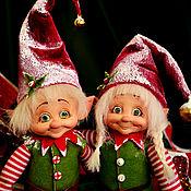 Куклы и игрушки ручной работы. Ярмарка Мастеров - ручная работа Эльфы Динь и Дон. Handmade.