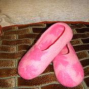 Обувь ручной работы. Ярмарка Мастеров - ручная работа детские валяные тапочки. Handmade.