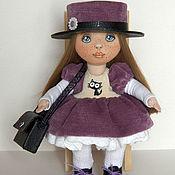 Куклы и пупсы ручной работы. Ярмарка Мастеров - ручная работа Кукла текстильная Виолетта. Handmade.