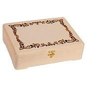 Материалы для творчества handmade. Livemaster - original item Gift box chest 382810 cm packaging for painting decoupage. Handmade.