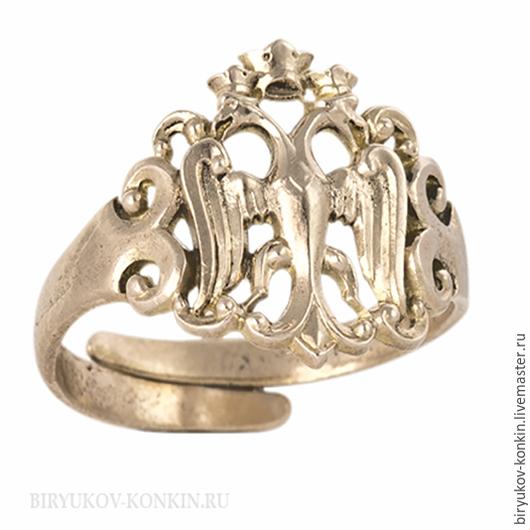 """Кольца ручной работы. Ярмарка Мастеров - ручная работа. Купить Латунное кольцо """"Орел""""/кольцо из латуни. Handmade. Кольцо, кольцо в подарок"""