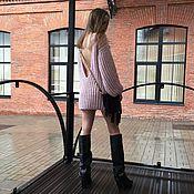 Свитеры ручной работы. Ярмарка Мастеров - ручная работа Удлиненный свитер из ангоры. Handmade.
