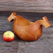 Русский стиль handmade. Livemaster - original item Banin a two-headed Horse. Handmade.
