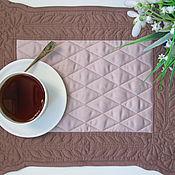 Для дома и интерьера handmade. Livemaster - original item Provence napkins coffee 2 PCs. Handmade.