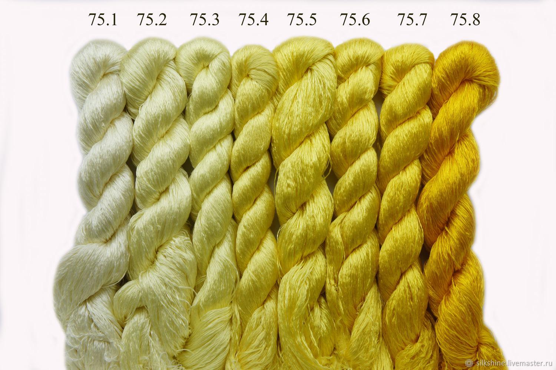 Шелковые нитки для вышивания 73