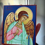 Картины и панно handmade. Livemaster - original item The Holy Guardian Angel.Hand painted icon. Handmade.
