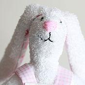 Куклы и игрушки handmade. Livemaster - original item White rabbit Pussy. Handmade.