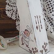 """Для дома и интерьера ручной работы. Ярмарка Мастеров - ручная работа Подставка под ножи """". Повора"""". Handmade."""