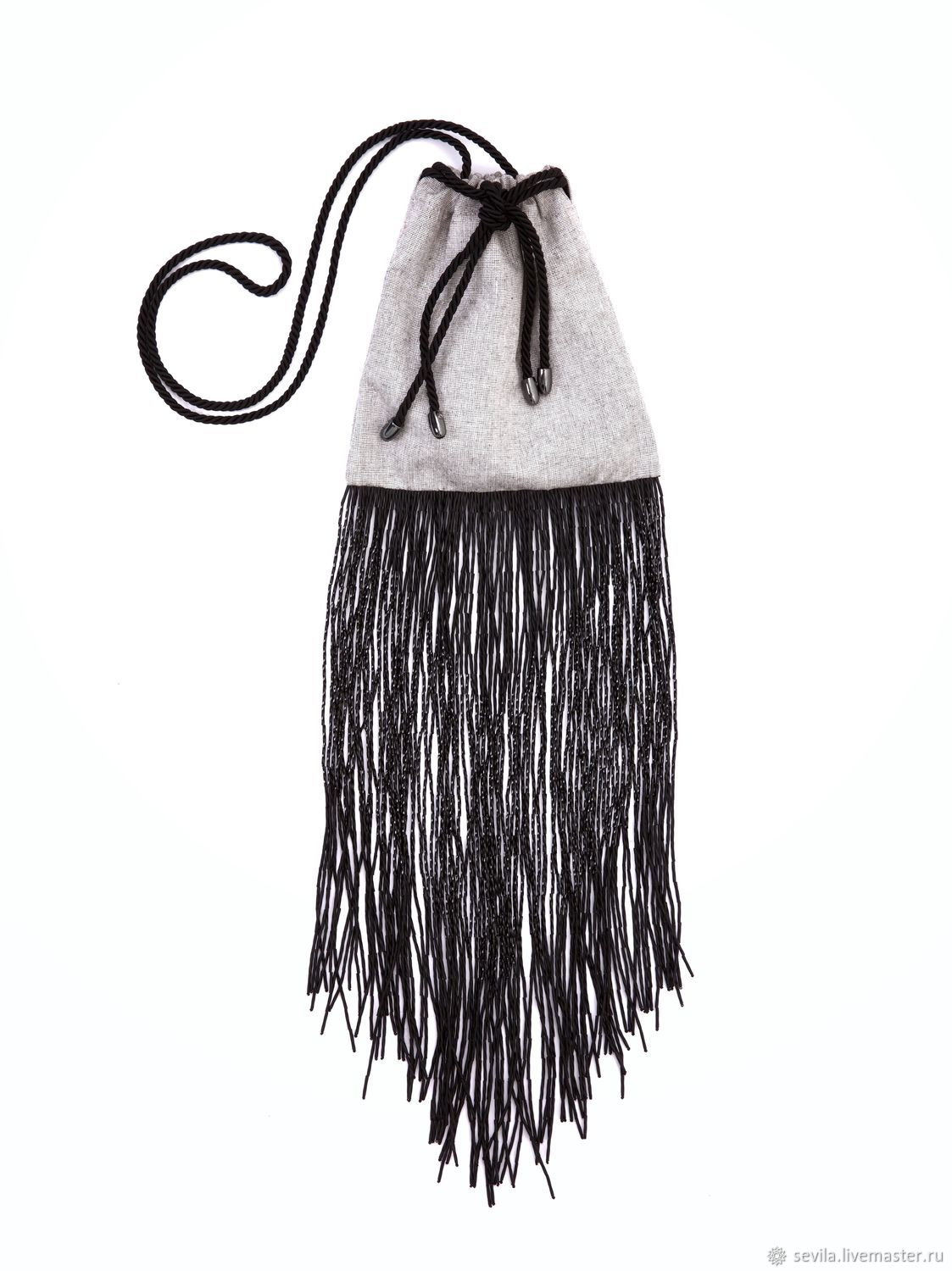 Bag with a fringe of bugles STARLIGHT SIS, Classic Bag, St. Petersburg,  Фото №1