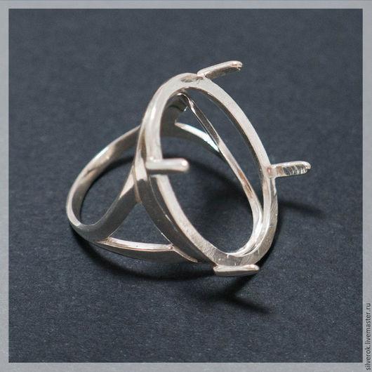 Для украшений ручной работы. Ярмарка Мастеров - ручная работа. Купить Основа для кольца под каст серебро 925 проба. Handmade.