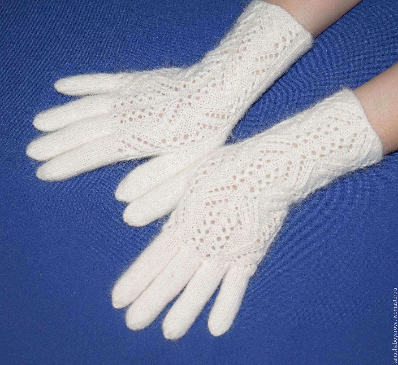 Перчатки вязаные своими руками фото 136