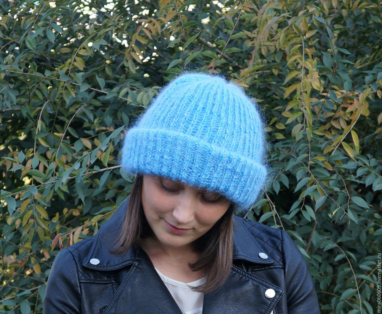 Фото мастер класс вязанная шапка