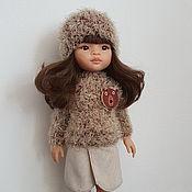 Куклы и игрушки handmade. Livemaster - original item Clothing for Paola Reina dolls: skirt, cardigan, hat, longsleeve. Handmade.