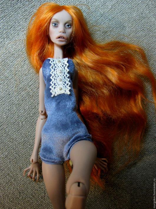 Коллекционные куклы ручной работы. Ярмарка Мастеров - ручная работа. Купить Авторская шарнирная кукла из полиуретана молд Мэгги. Handmade.