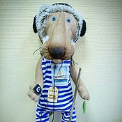 Куклы и игрушки ручной работы. Ярмарка Мастеров - ручная работа Лев Бонифация (старичок))). Handmade.