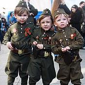 """Работы для детей, ручной работы. Ярмарка Мастеров - ручная работа костюм детский  военный  """" Сын полка """". Handmade."""