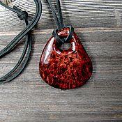 Украшения handmade. Livemaster - original item The pendant is made of birch burl. Handmade.