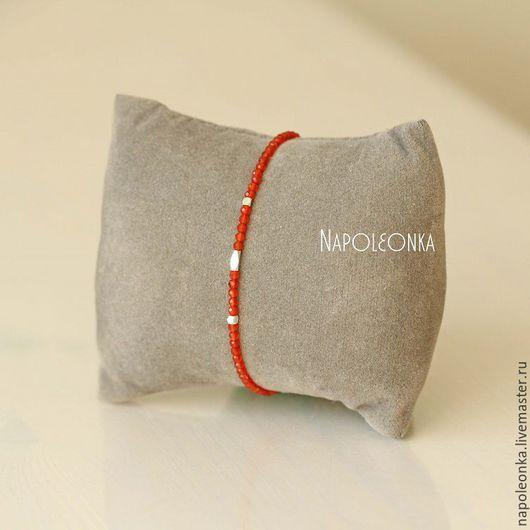 сердолик натуральный, камень сердолик, купить браслет из камней, купить браслет в Москве, украшения сердолик, украшения из сердолика, купить браслет в подарок, тонкий браслет, браслет на каждый день