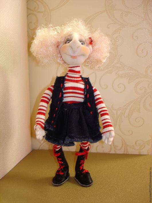 Коллекционные куклы ручной работы. Ярмарка Мастеров - ручная работа. Купить Жанна. Handmade. Тёмно-синий, авторская ручная работа