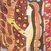 """Аксессуары ручной работы. Ярмарка Мастеров - ручная работа Палантин """" Лес"""". Handmade."""