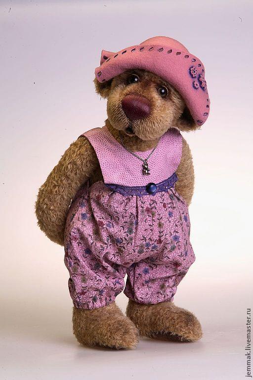 """Куклы и игрушки ручной работы. Ярмарка Мастеров - ручная работа. Купить Выкройка мишки """"Ануш"""". Handmade. Серый, мишка"""