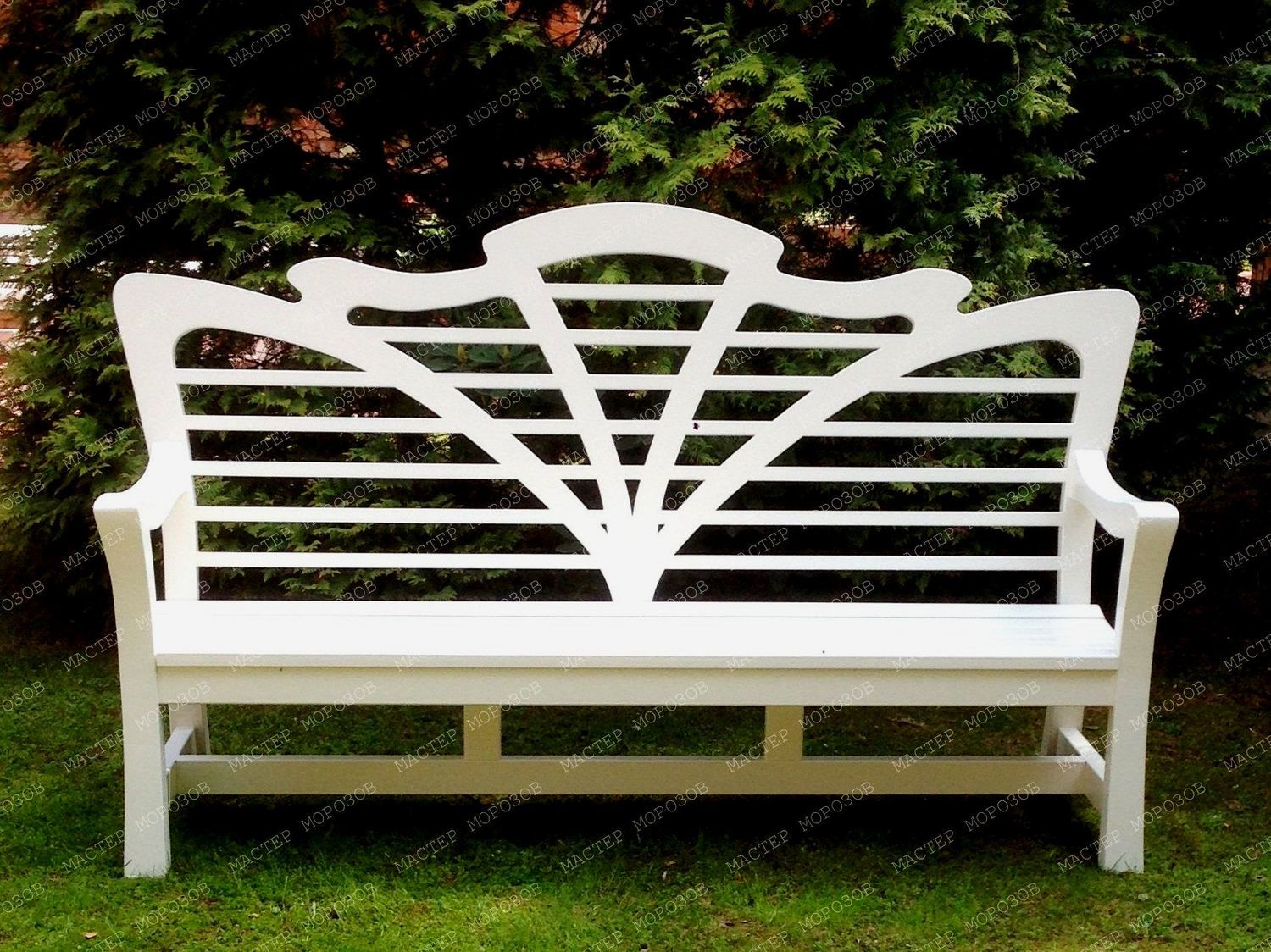 BENCH THE PERFECT LADY, Garden benches, Lyubertsy,  Фото №1
