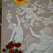 handmade. Livemaster - original item Lace tablecloth
