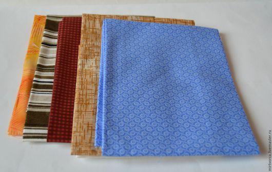 Шитье ручной работы. Ярмарка Мастеров - ручная работа. Купить Ткань (отрез 50х50 см). Handmade. Комбинированный, ткань для картонажа