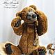 Мишки Тедди ручной работы. бурый медведь Бернард (40 см.,рычит). Романова Юлия (September Bears). Ярмарка Мастеров.