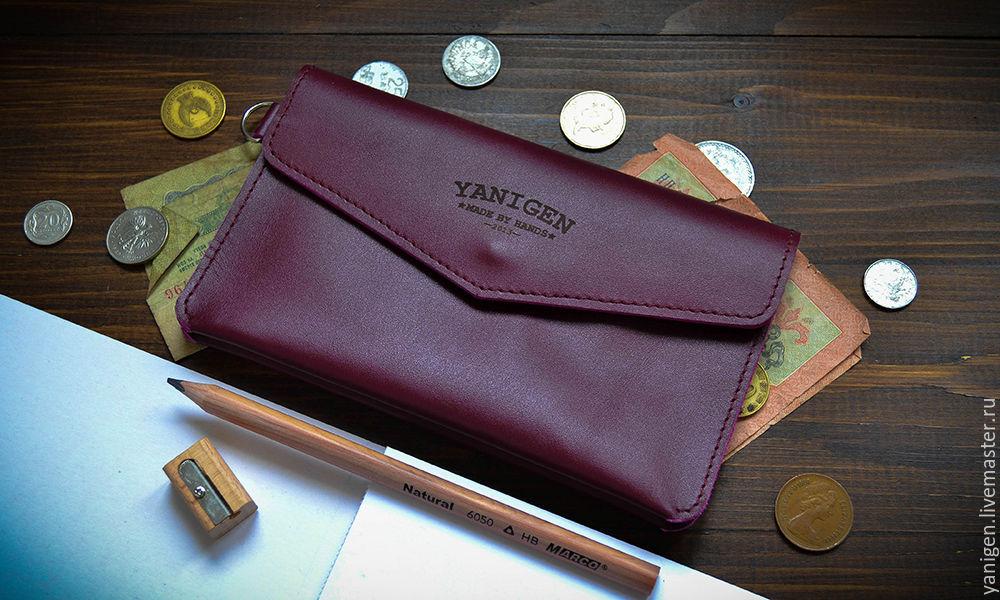 e15df2949f23 Клатч, портмоне из натуральной кожи – купить в интернет-магазине на ...
